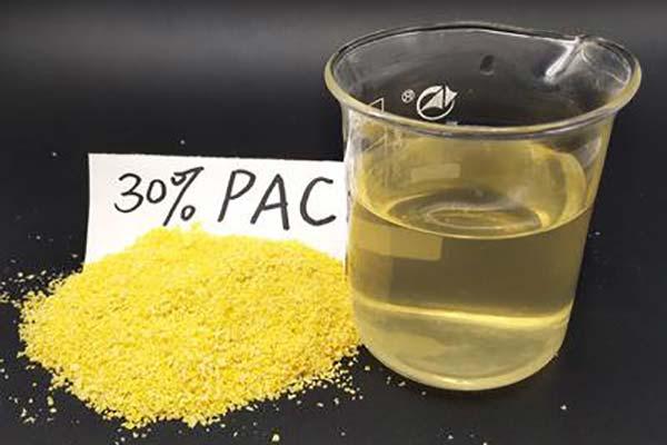供水厂用水中的聚氯化铝处理